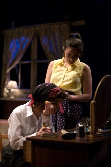 Sam Neale & Rachel Teate (Photo: Live Theatre)
