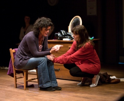 Phillippa Wilson & Cheryl Marie Dixon (Photo: Live Theatre)
